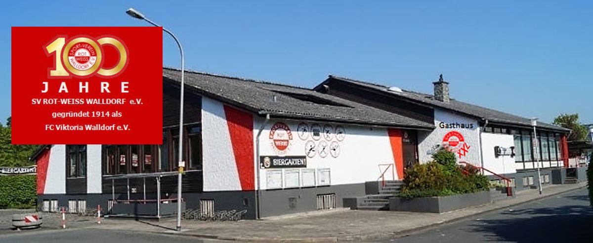 100 Jahre SV Rot-Weiss Walldorf E.V.